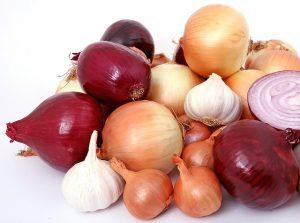 Onions, Garlic
