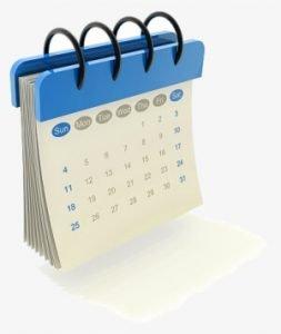 Dog Grooming Calendar